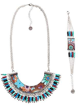 Desigual Necklace and Bracelet Set