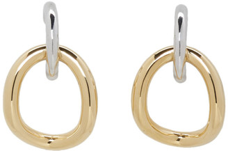 Charlotte Chesnais Gold and Silver Inner Naho Earrings