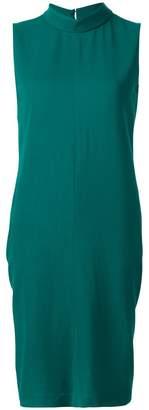 Maison Margiela high neck sleeveless dress