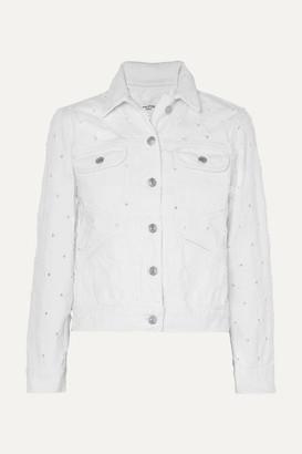 Etoile Isabel Marant Lofty Distressed Denim Jacket