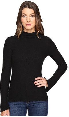 Michael Stars Super Soft Madison Rib Turtleneck $88 thestylecure.com
