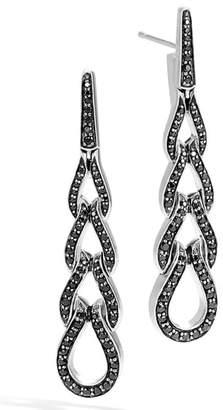 John Hardy Classic Chain Long Drop Earrings