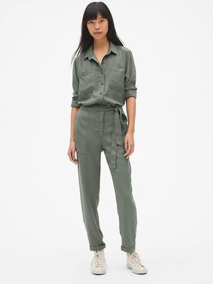 Gap Utility Jumpsuit in TENCEL