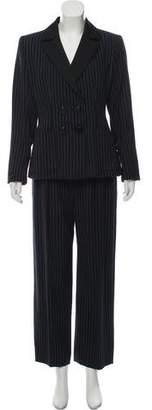 Saint Laurent Striped Suit Set