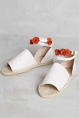Raye Daphne Floral Espadrilles $188 thestylecure.com