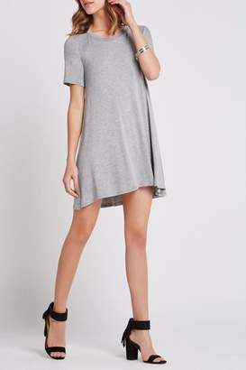 BCBGeneration Heathered Jersey Dress