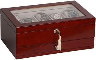 Mele Christo Locking Watch & Jewelry Box