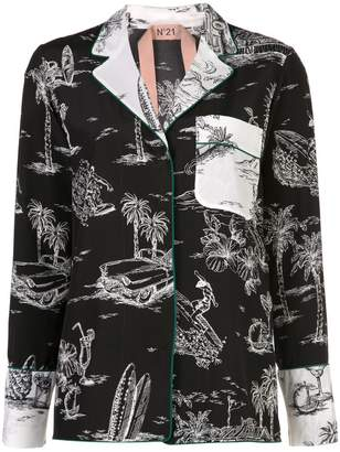 No.21 palm trees shirt