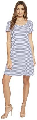 Christin Michaels - Victoria Striped Dress Women's Dress $69 thestylecure.com