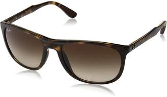 Ray-Ban Men's Injected Man Sunglass Square