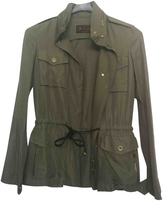 Loro Piana Green Silk Jacket for Women