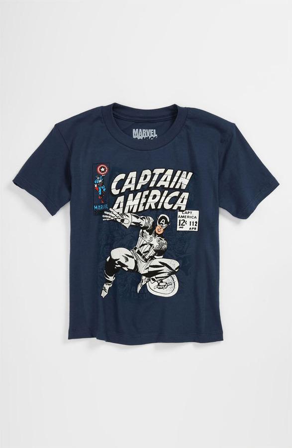 JEM 'Captain Cover UV' T-Shirt (Little Boys)