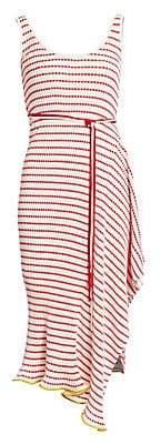 Roland Mouret Women's Cunningham Ruffle Midi Dress