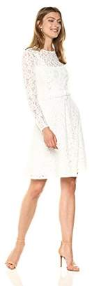 Wild Meadow Women's Victorian Inspired Lace Dress S White