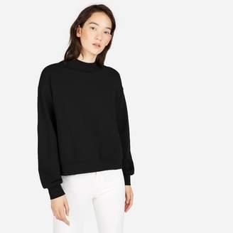Everlane The Classic French Terry Mockneck Sweatshirt