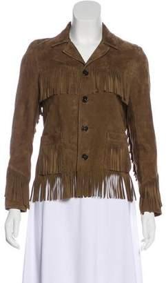 Saint Laurent 2016 Suede Jacket