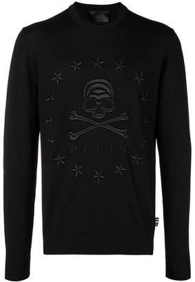 Philipp Plein Stars Skull slim-fit sweater