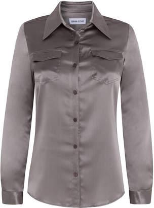 Adriana Iglesias Emilie Silk Satin Shirt