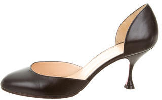Christian Louboutin  Christian Louboutin Leather d'Orsay Pumps