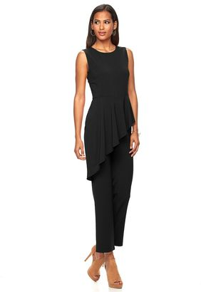 Women's Apt. 9® Asymmetrical Peplum Jumpsuit $60 thestylecure.com