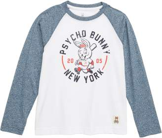 Psycho Bunny Graphic Baseball Shirt