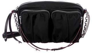 MZ Wallace Leather-Trimmed Crossbody Bag