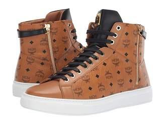 b52f3c25ba0f MCM High Top Lace-Up Sneaker