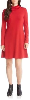Karen Kane Turtleneck A-Line Dress