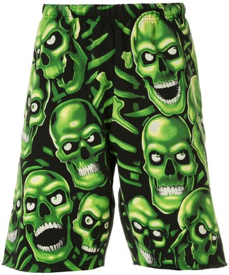 Supreme Skull Pile SS18 shorts