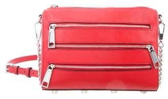 Rebecca Minkoff Three-Zip Rocker Crossbody Bag