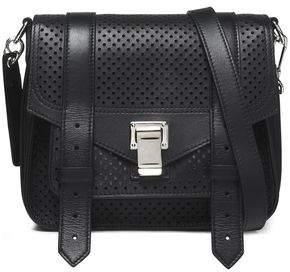 Proenza Schouler Perforated Leather Shoulder Bag