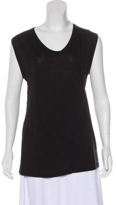 Calypso Sleeveless Scoop Neck Top