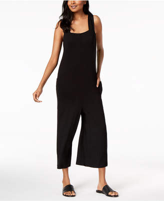Eileen Fisher Stretch Jersey Cropped Jumpsuit, Regular & Petite
