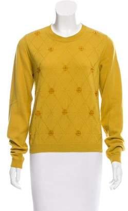 Maison Margiela Embellished Cashmere Sweater