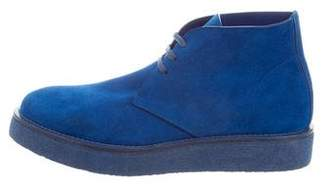 Calvin Klein Collection Suede Desert Boots