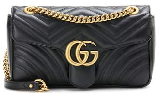 Gucci GG Marmont matelassé leather shoulder bag