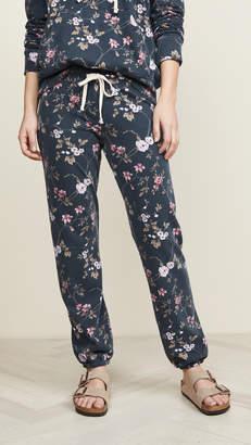 Sundry Floral Basic Sweatpants