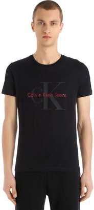 Calvin Klein Jeans Classic Logo Cotton Jersey T-Shirt