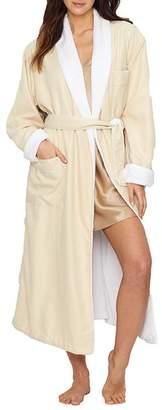 Monarch Cypress Microfiber Plush-Lined Spa Robe