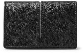 Tod's Pebble-Grain Leather Cardholder