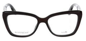 Givenchy Optyl Square Eyeglasses Red Optyl Square Eyeglasses