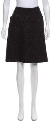 Theory Wool Knee-Length Skirt
