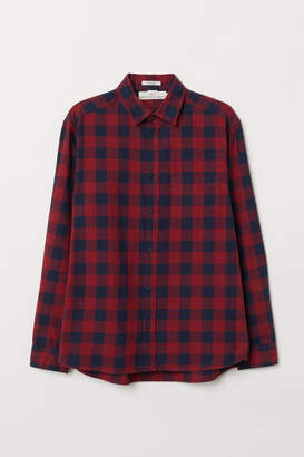 H&M Regular Fit Oxford Shirt - Red