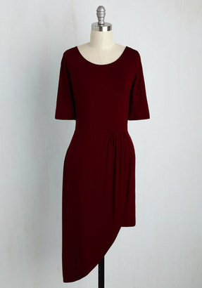 Best of the Fresh Sheath Dress in Burgundy in S $29.99 thestylecure.com