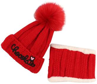 977e0255615 at Amazon Canada · Cloche Eliffete Warm Women Pink Cable Bucket Fur Beanies  Crochet Caps Hat Set for Teens