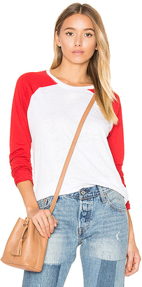 Nation LTD Green Lake Tee in Red $90 thestylecure.com