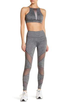 C&C California Streamer Mesh Panel Leggings