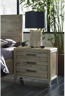 Laurèl Foundry Modern Farmhouse Descartes 3 Drawer Nightstand