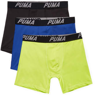 Puma Solid Volume Boxer Brief (3Pk)