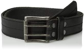 Bill Adler Belts Men's Center Creased Jean Belt